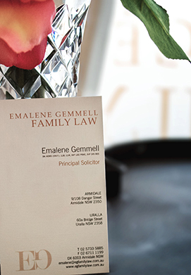 Emalene Gemmell Business Card